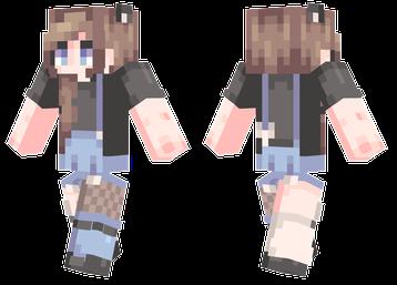 Brown Hair Minecraft Skins Minecraft Girl Skins Minecraft Skins Female