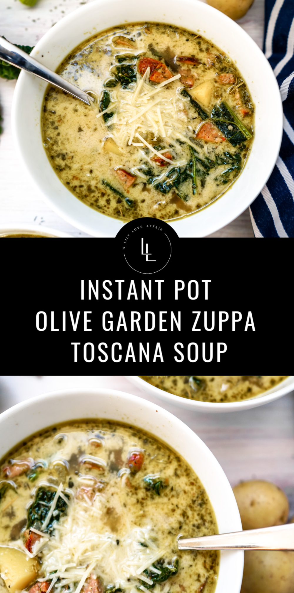 Instant Pot Olive Garden Zuppa Toscana Soup Zuppa