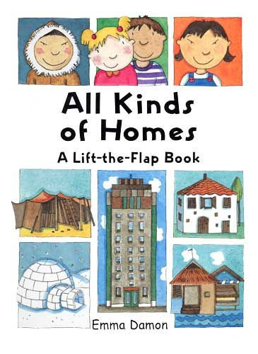 Great book to help preschoolers see the different kinds of for Different kinds of homes