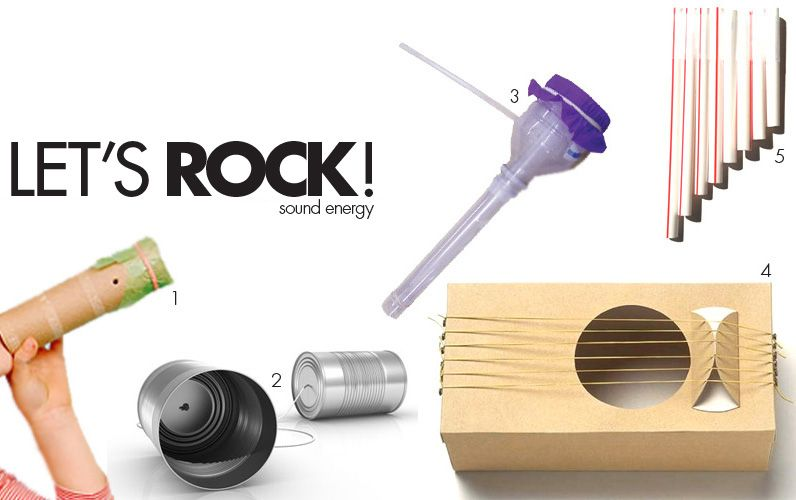 Explore the science of sound by creating your very own rock band of