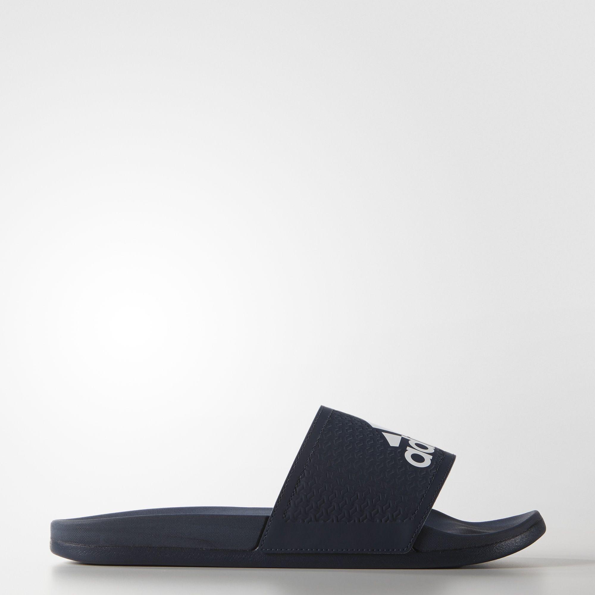 Adidas UK Shop - Adidas adilette Supercloud Plus Slides (Blue) for Men