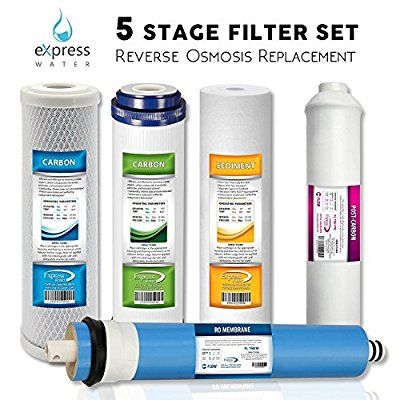 5 stage reverse osmosis replacement filters amazon express water csgim5 replacement filter set for standard stage reverse osmosis filter system 50