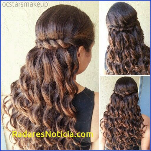 Simple Hairstyle For Dama Hairstyles Best Ideas About Quinceanera Hairstyles On Pinterest Quince Hairstyles Curls For Long Hair Sweet 16 Hairstyles