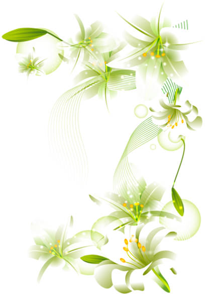 white flower png White Flowers Element Free Transparent