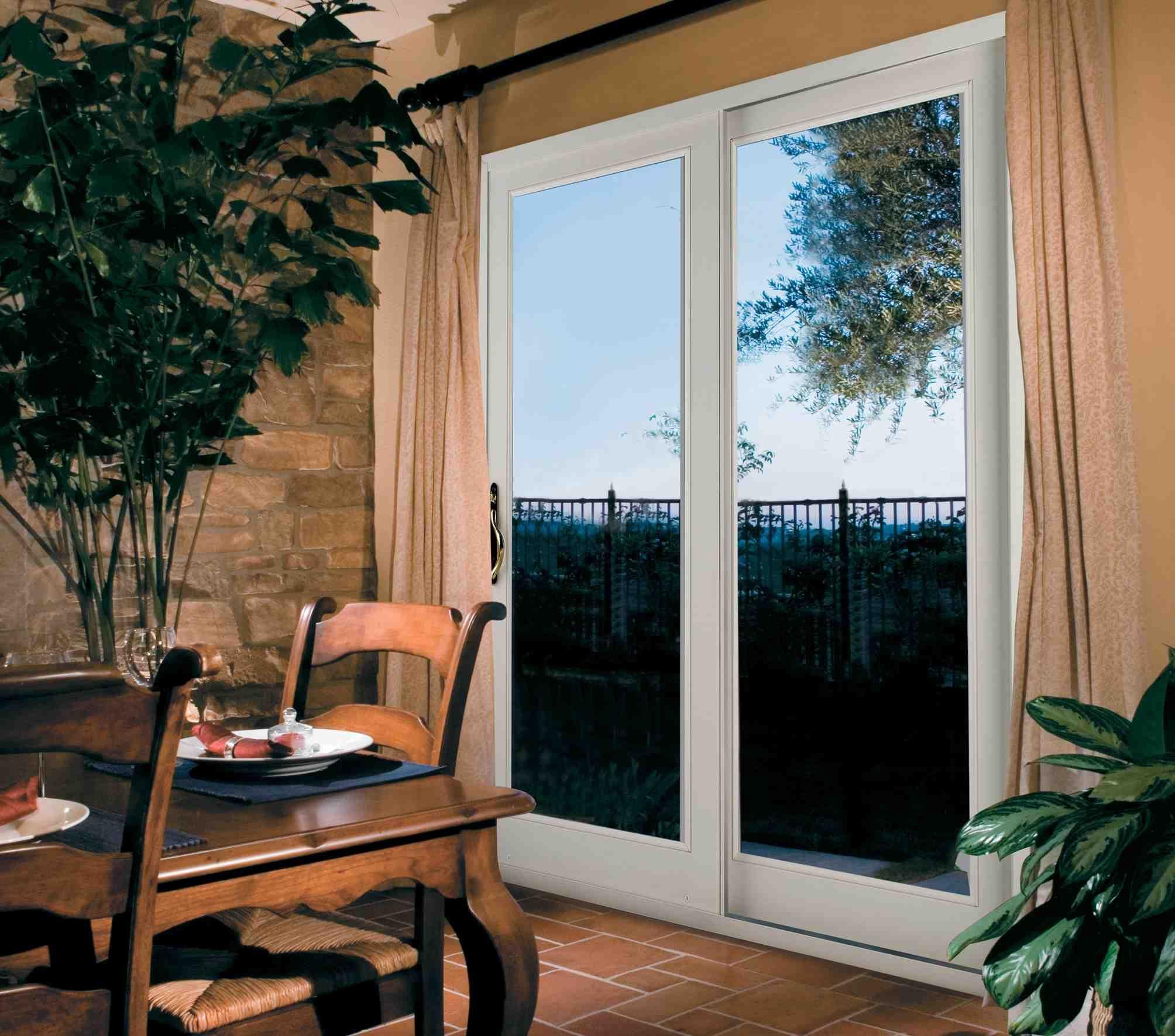 Single Patio Door With Internal Blinds Home Patio Pinterest