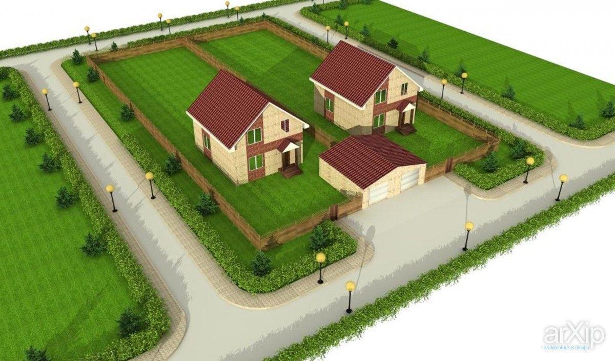 3D визуализация. Коттеджи в поселке: зd визуализация, архитектура #3dvisualization #architecture