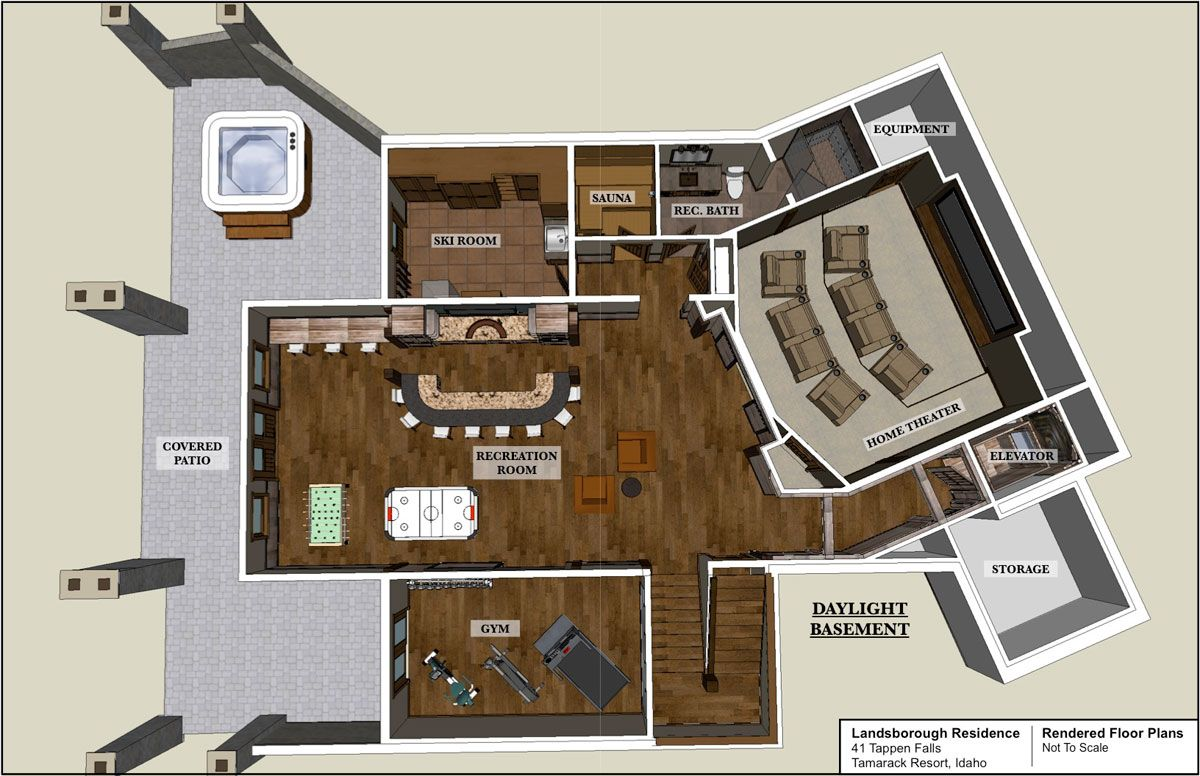 Click To Close Image Click Und Drag To Move Use Arrow Keys For Previous And Next Patio Room Rendered Floor Plan Ski Lodge
