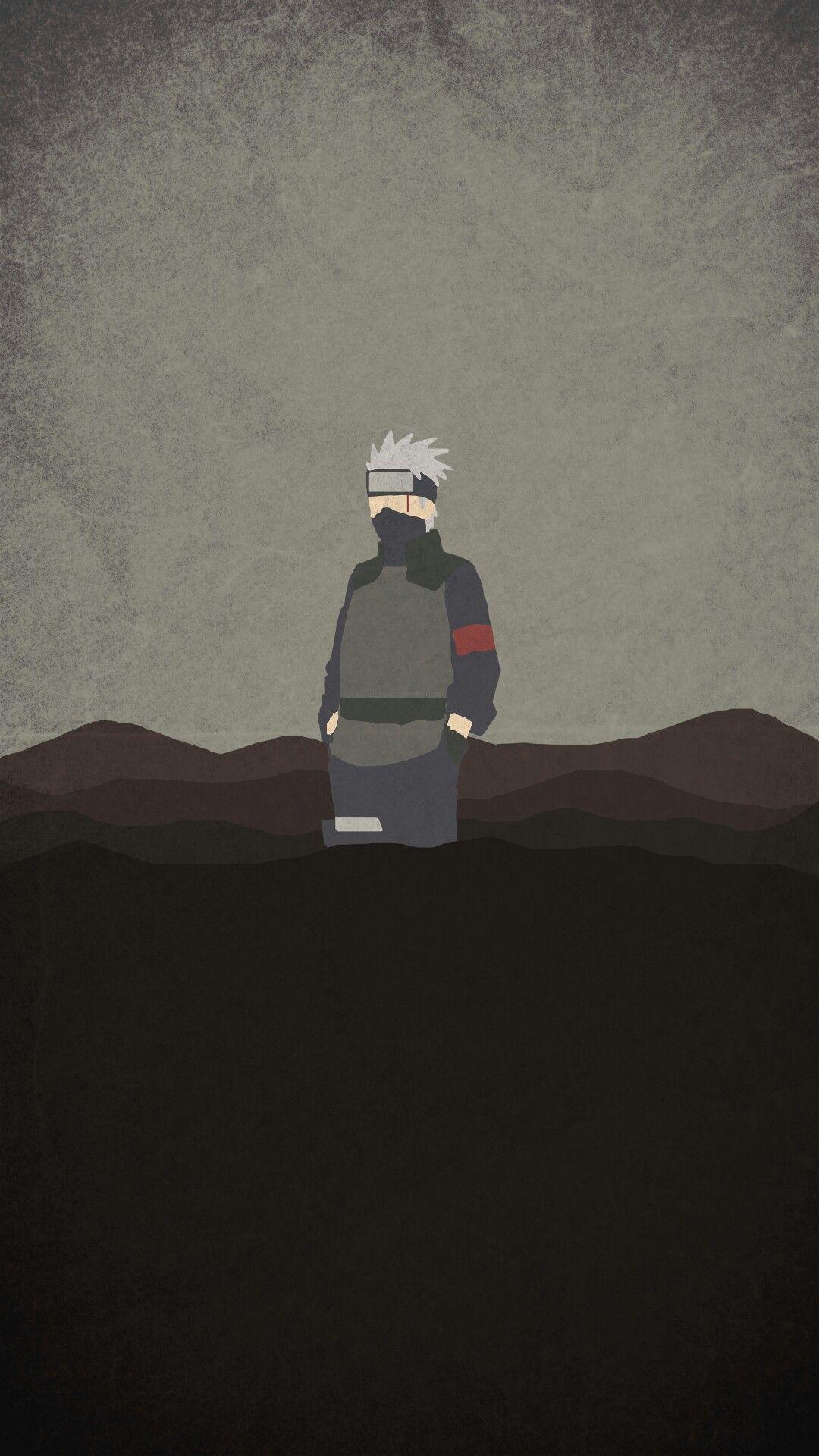 Minimalist Aesthetic Naruto Desktop Wallpaper