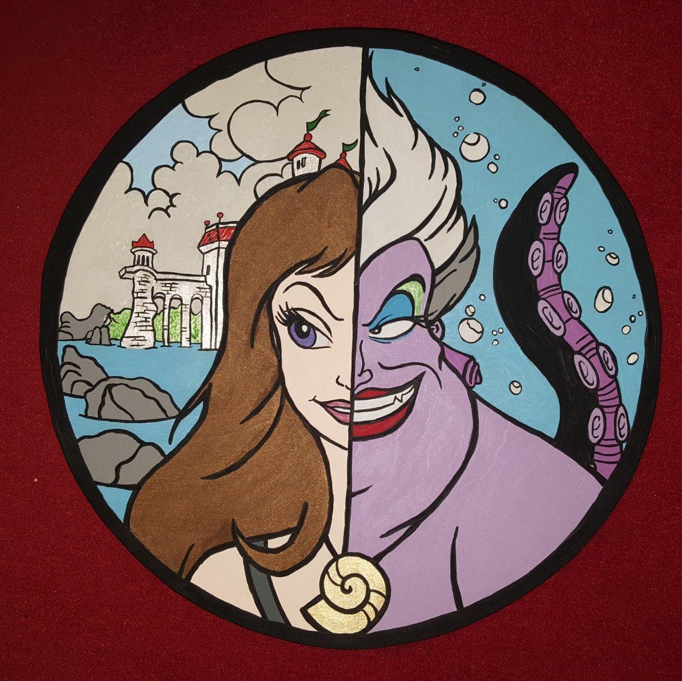 Disney Ursula Vanessa Disney Coloring Pages Disney Villains Disney