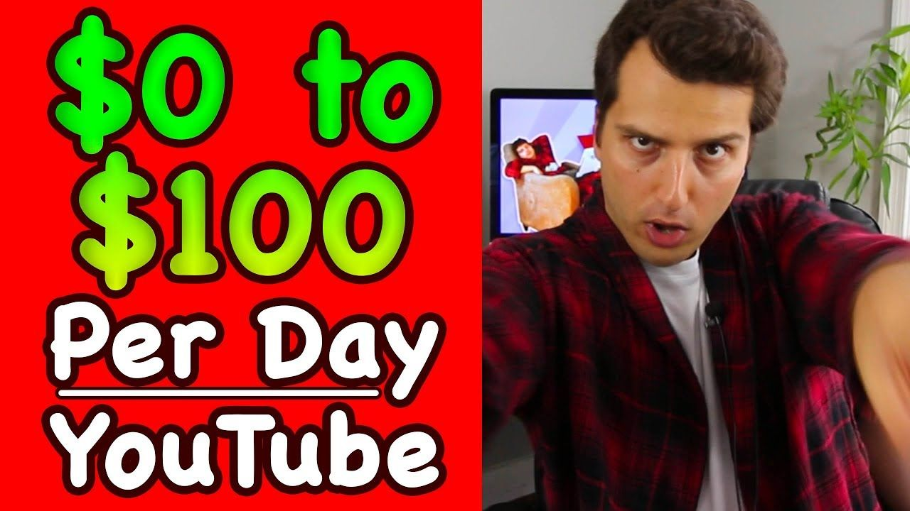 How to go from 0 to 100day on youtube without showing