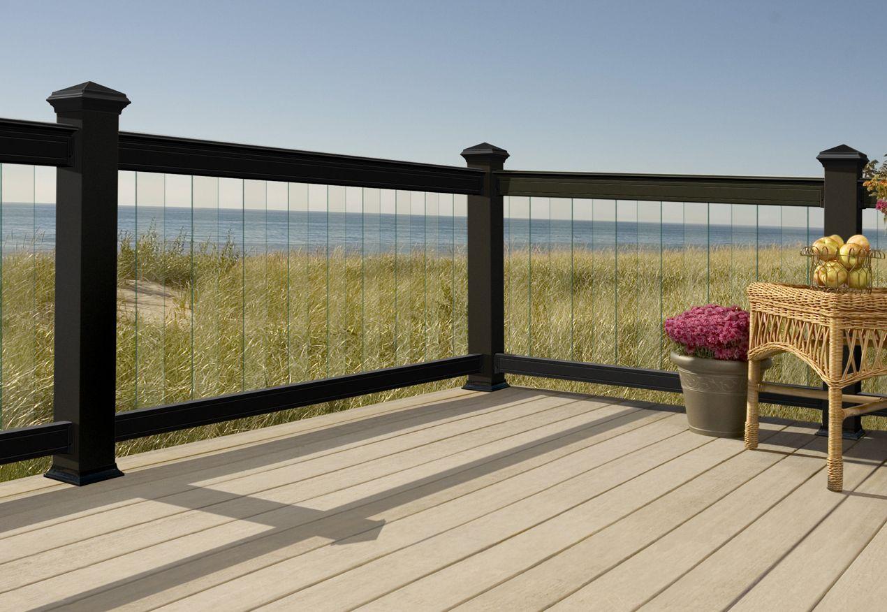 images of glass rail decks | Deck Railing Designs - Decks.com ...