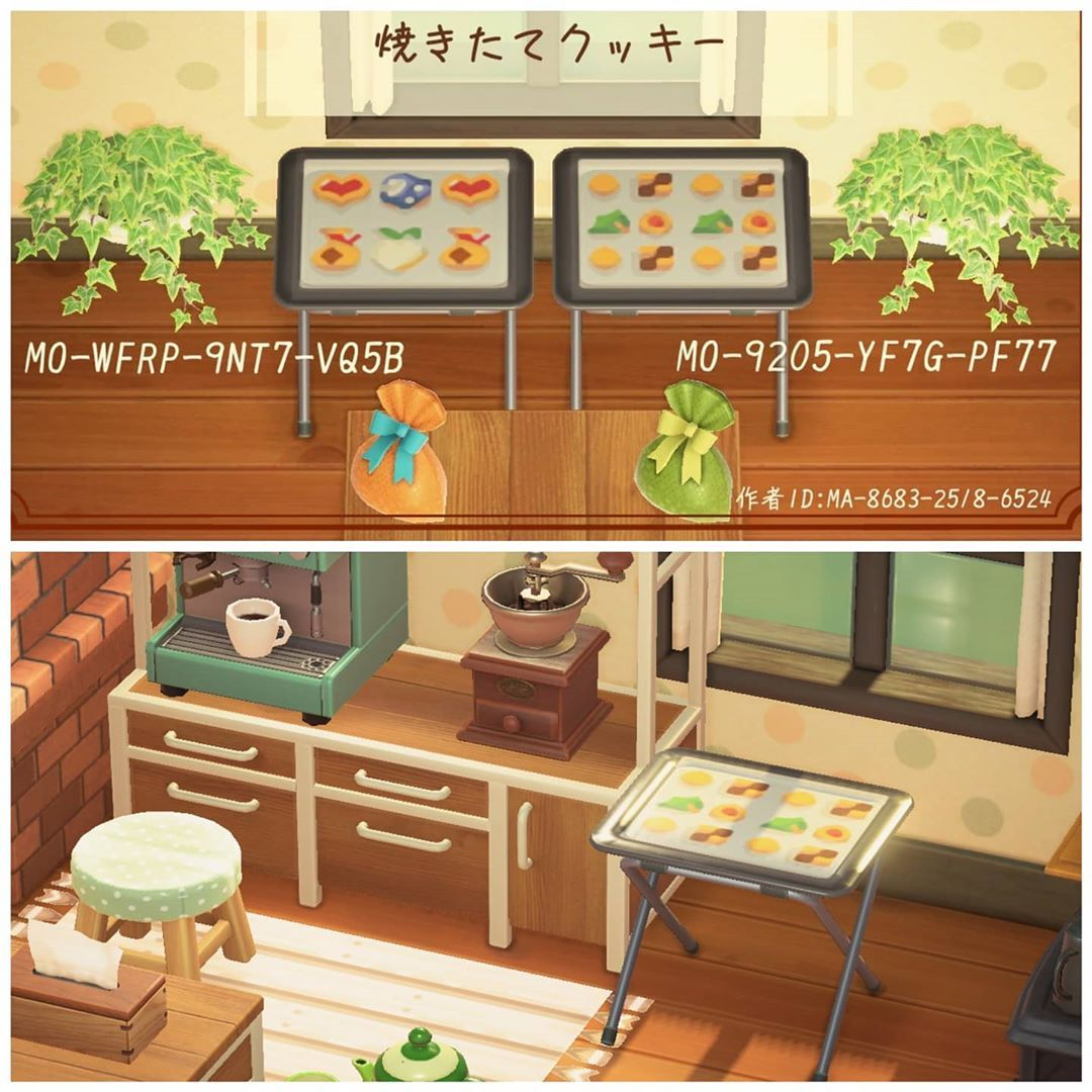 Animal Crossing Acnh Codes On Instagram Acnh Cookie And Sweets Tray Pattern For Table Posted By Ai Animal Crossing Animal Crossing Game New Animal Crossing