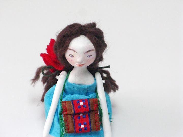 My lovely art doll Jenny !    www.dedalos.etsy.com