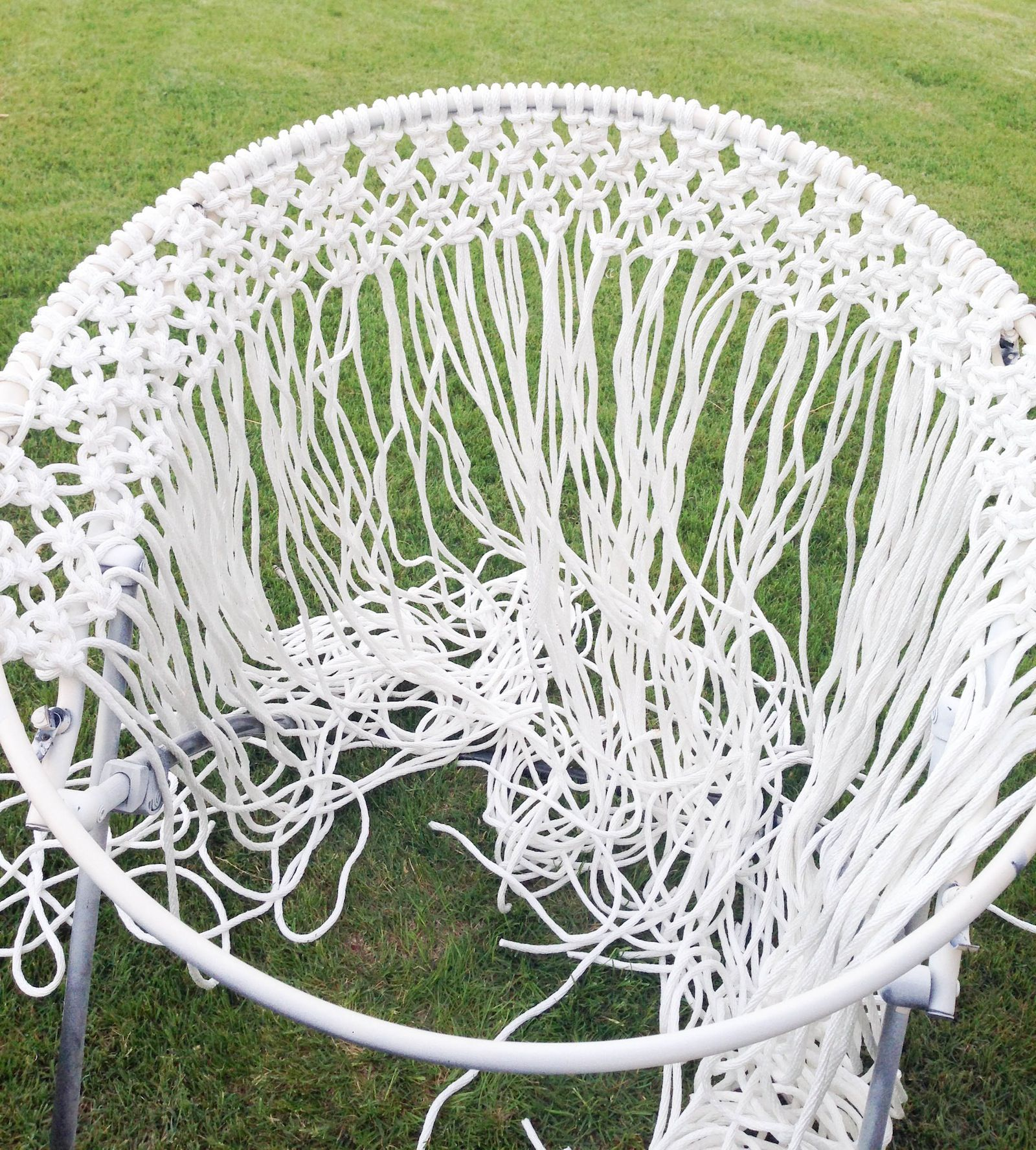 diy hanging macram chair macrame