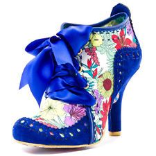 Irregular Choice Abigail 3rd Party Damen Stoff Blue Multicolour Shoes Schuhe