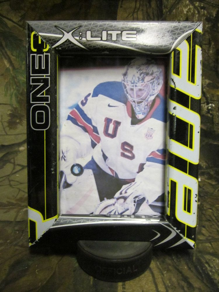 5 x 7 hockey stick picture frame by manland on etsy