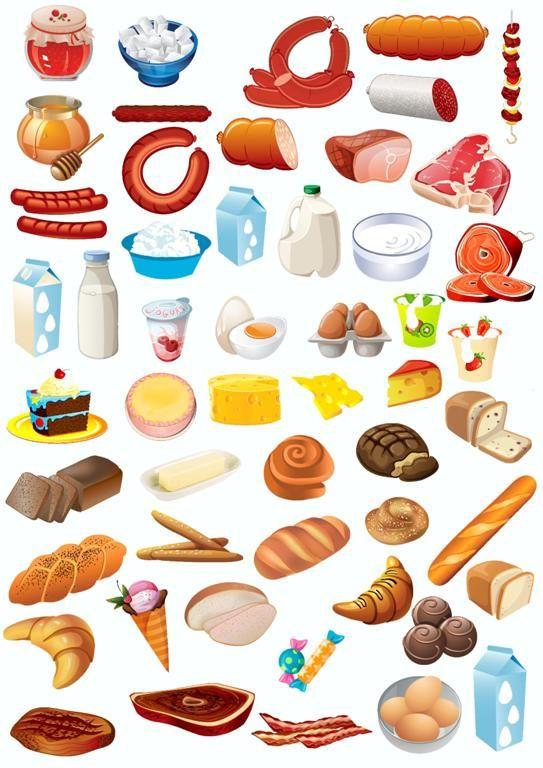 картинки продукты для детей