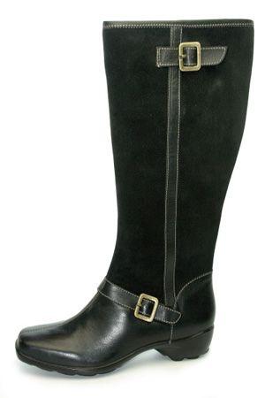 f8c72f3805f7 Casual Wide Calf Boots