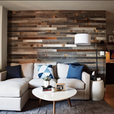 Peel And Stick Wood Wall Wood Wall Paneling Plank And Mill Reclaimed Barn Wood Wood Plank Walls Easy Home Decor