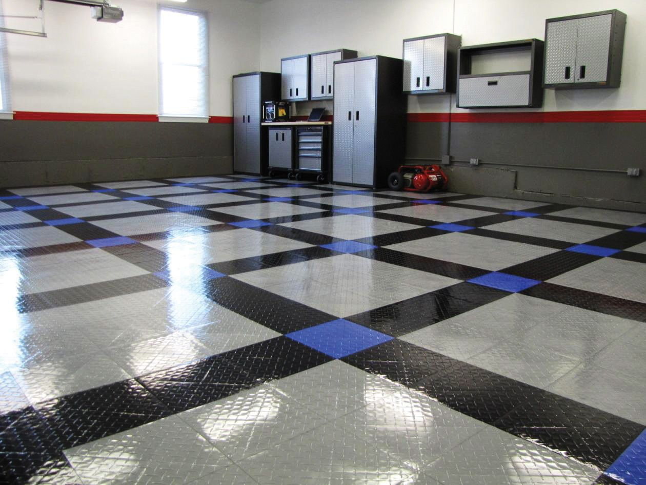 Racedeck Tuffshield Garageflooringllc Com Flooring Cost Deck Flooring Garage Decor