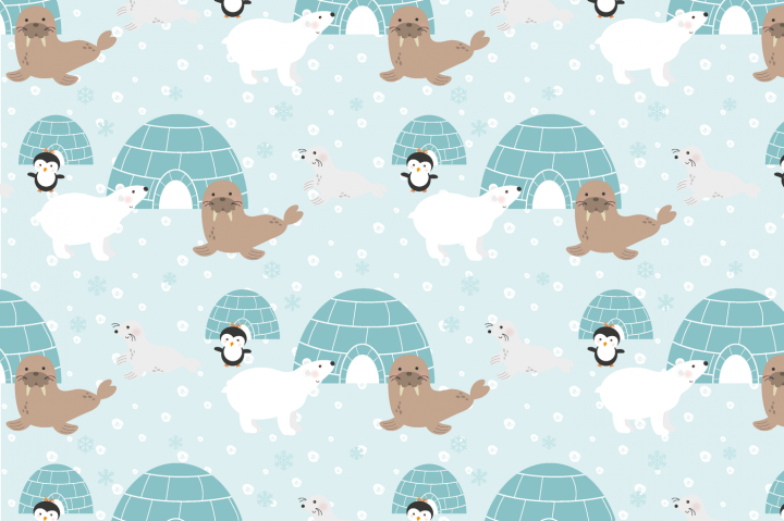 Eskimo paper By Poppymoon Design