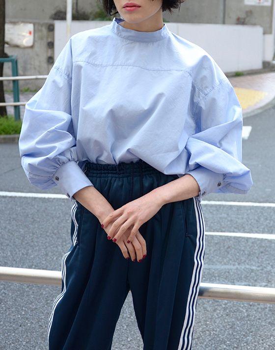 UNUSED - Puff sleeve pullover shirt / アンユーズド - パフスリーブプルオーバーシャツ - birthdeath ONLINE STORE / バースデス オンラインストア