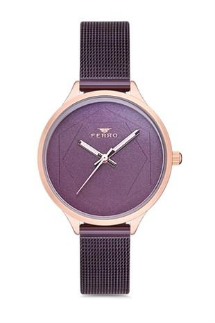 Ferro F40062c 135 P Kadin Kol Saati Stilmeydani Gold Watch Michael Kors Watch Amethyst