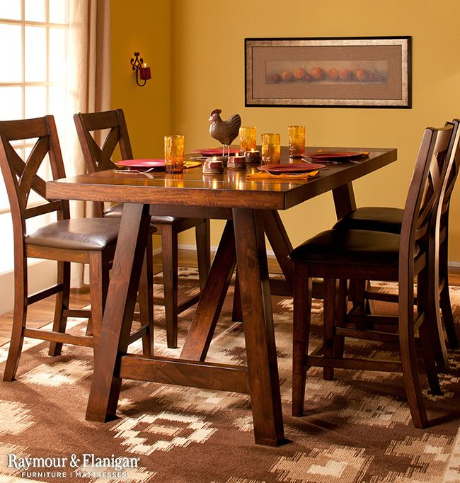 Royce 5 Pc Counter Height Dining Set Decor Counter