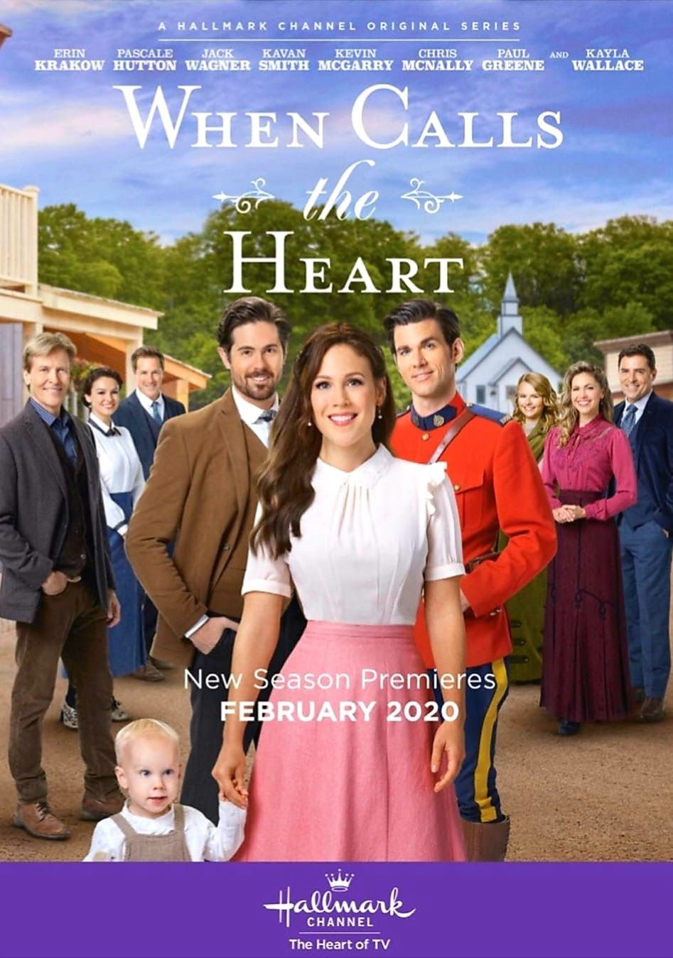 WCTH February 2020 Christmas movies, Hallmark tv