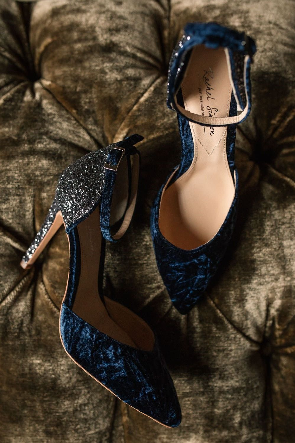 16 Timeless Navy Blue Wedding Ideas You Will Enjoy Mrs To Be Navy Wedding Shoes Blue Wedding Shoes Glitter Wedding Shoes