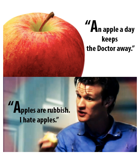apples - oh the irony :D