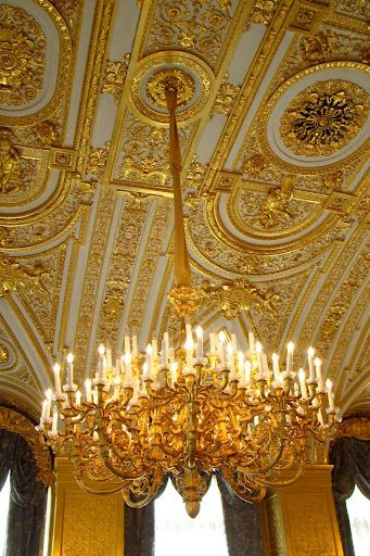 Resultat d'imatges de lamparas museo hermitage