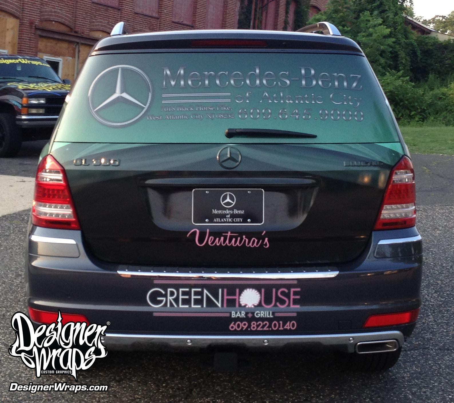 Mercedes Benz Partial Wrap Mercedes Benz Mercedes Benz