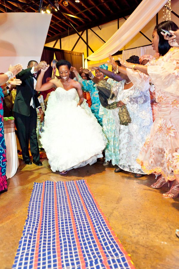Munaluchi Bride Magazine Liberian Wedding African Real Weddings