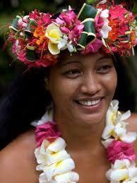 Polynesie Couronne Fleurs Ia Orana Tahiti Aita Pea