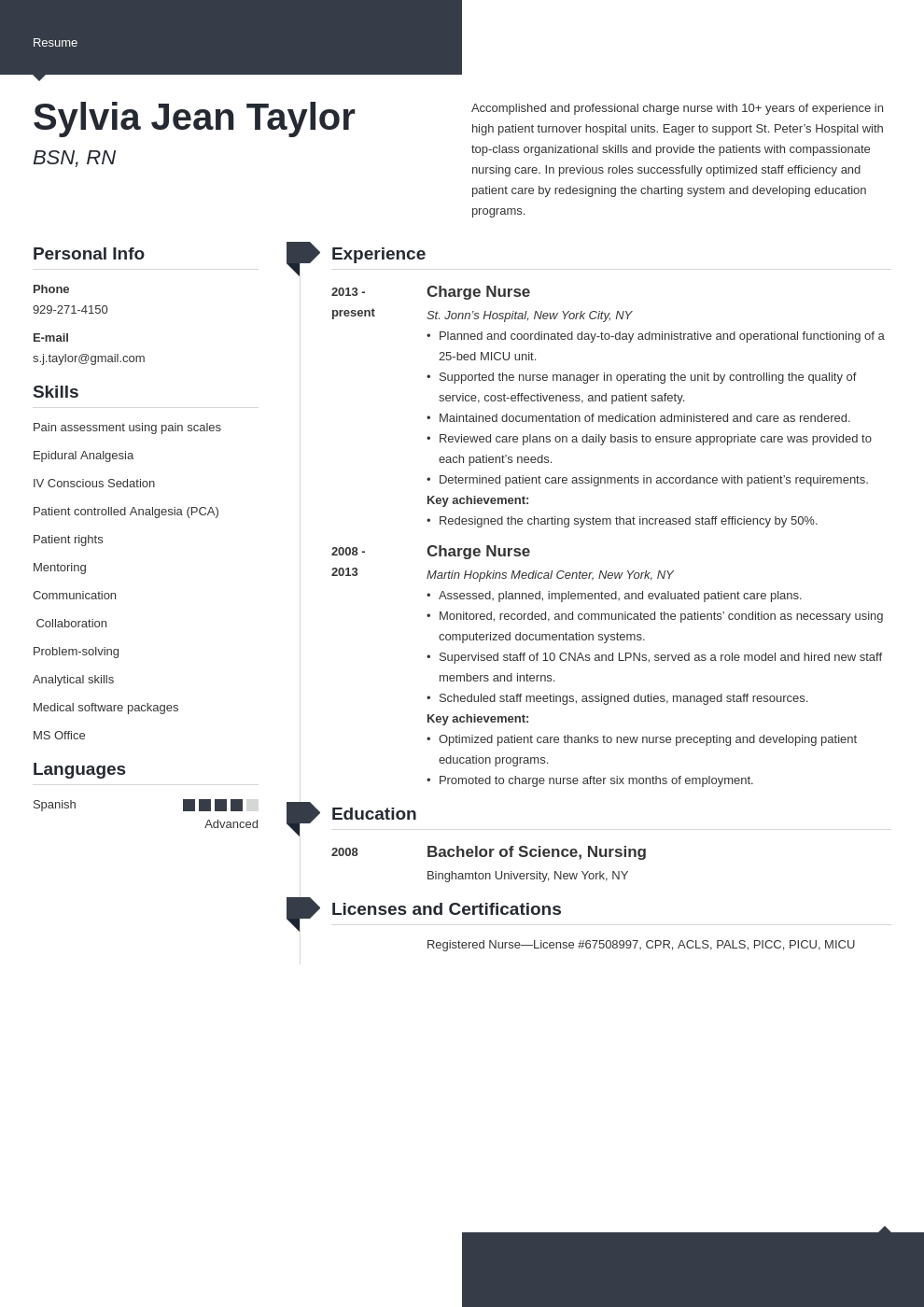 Charge Nurse Resume Example Template Modern Nursing Resume Resume Examples Charge Nurse