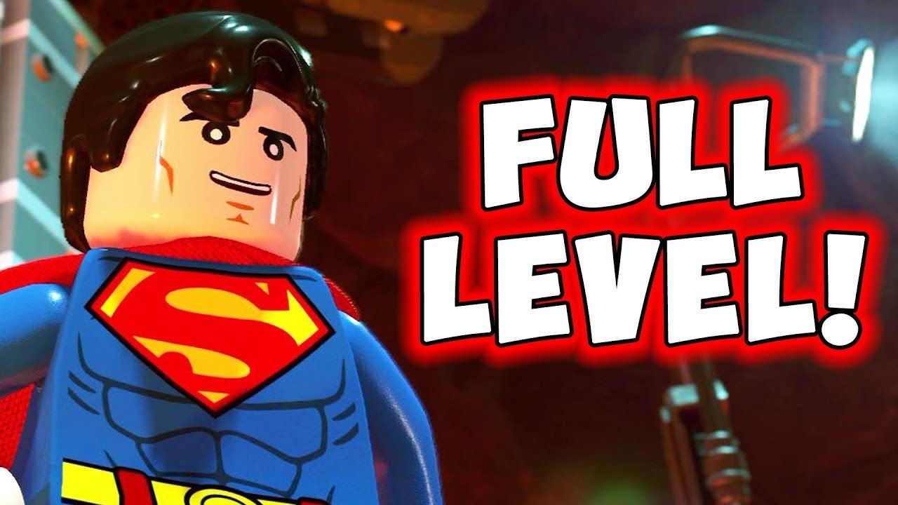 LEGO DC Supervillains LEVEL 1 (Full Gameplay Walkthrough