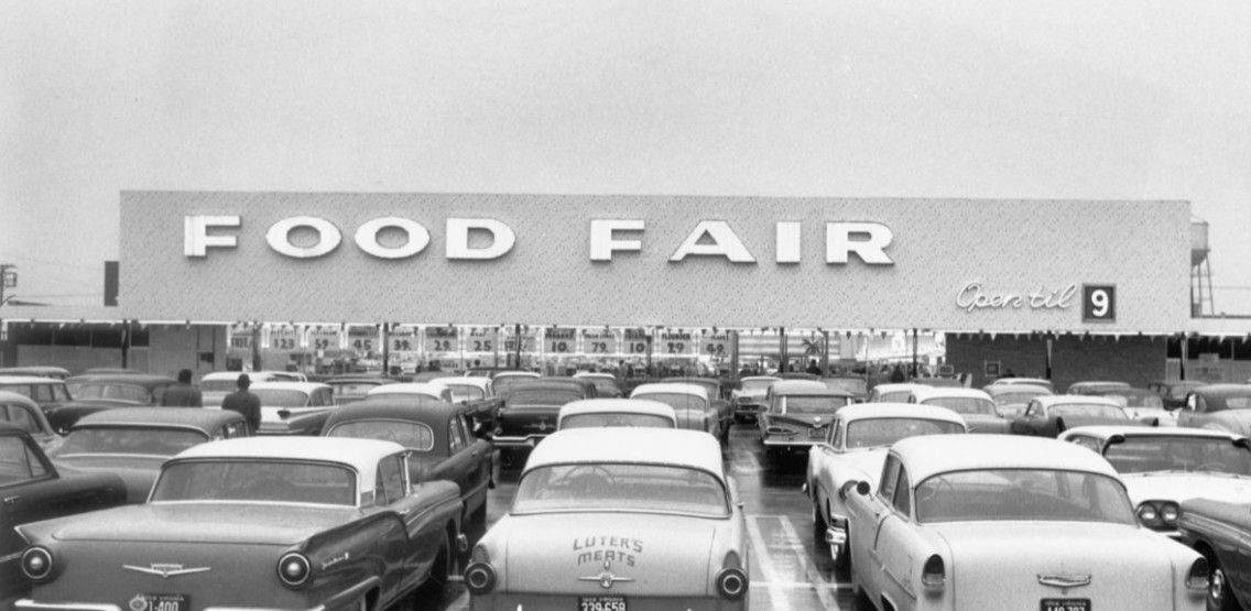 Remember when this was built food fair on broad st