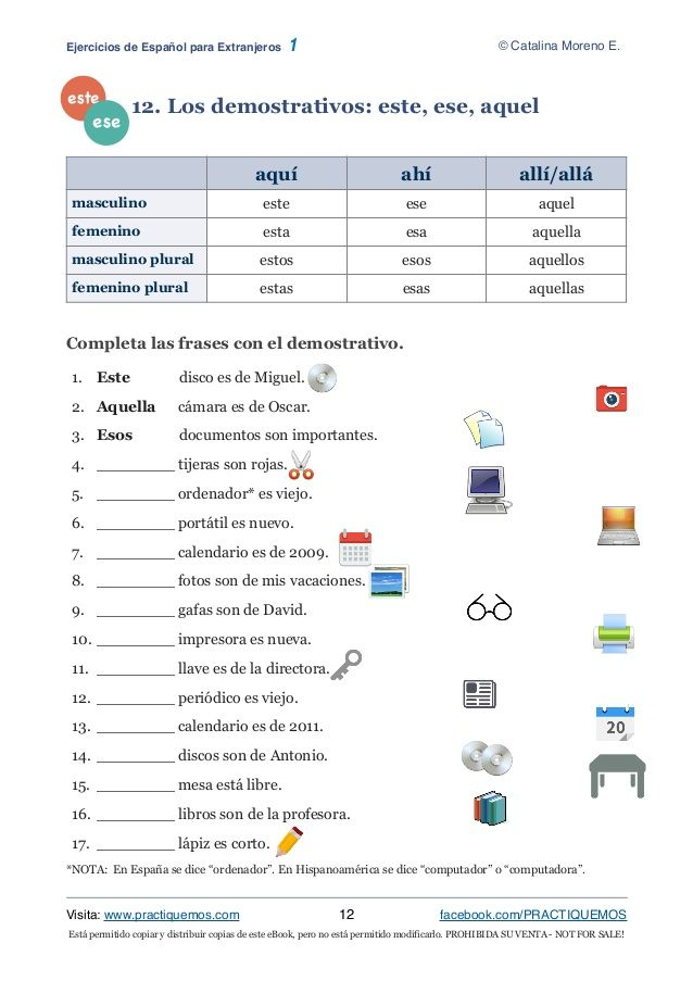 Está Permitido Copiar Y Distribuir Copias De Este Ebook Pero No Está Permitido Modificarlo Prohibida Su Spanish Worksheets Teaching Spanish Learning Spanish