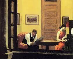 Habitacion en nueva York Edward Hopper 1932