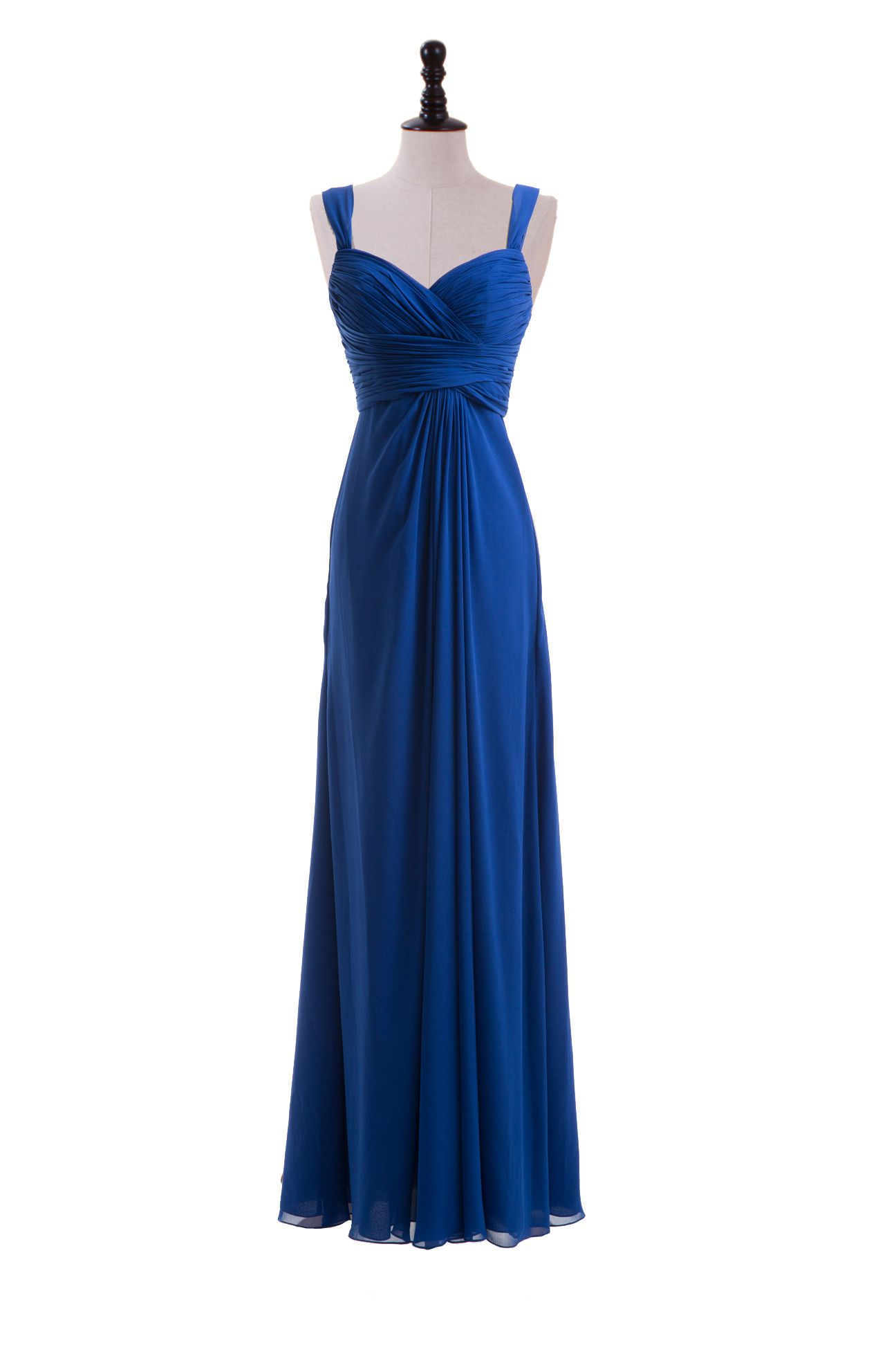 Sweetheart straps chiffon dress for bridesmaids but in red oufits