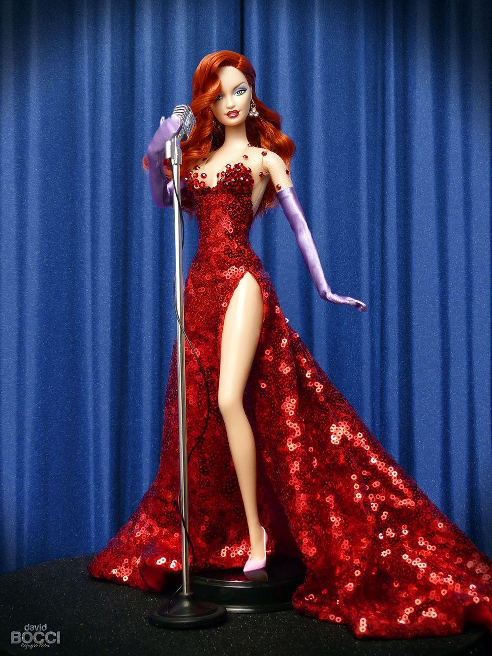 Ella es Jessica Rabbit, inspirada en la coprotagonista de la ...