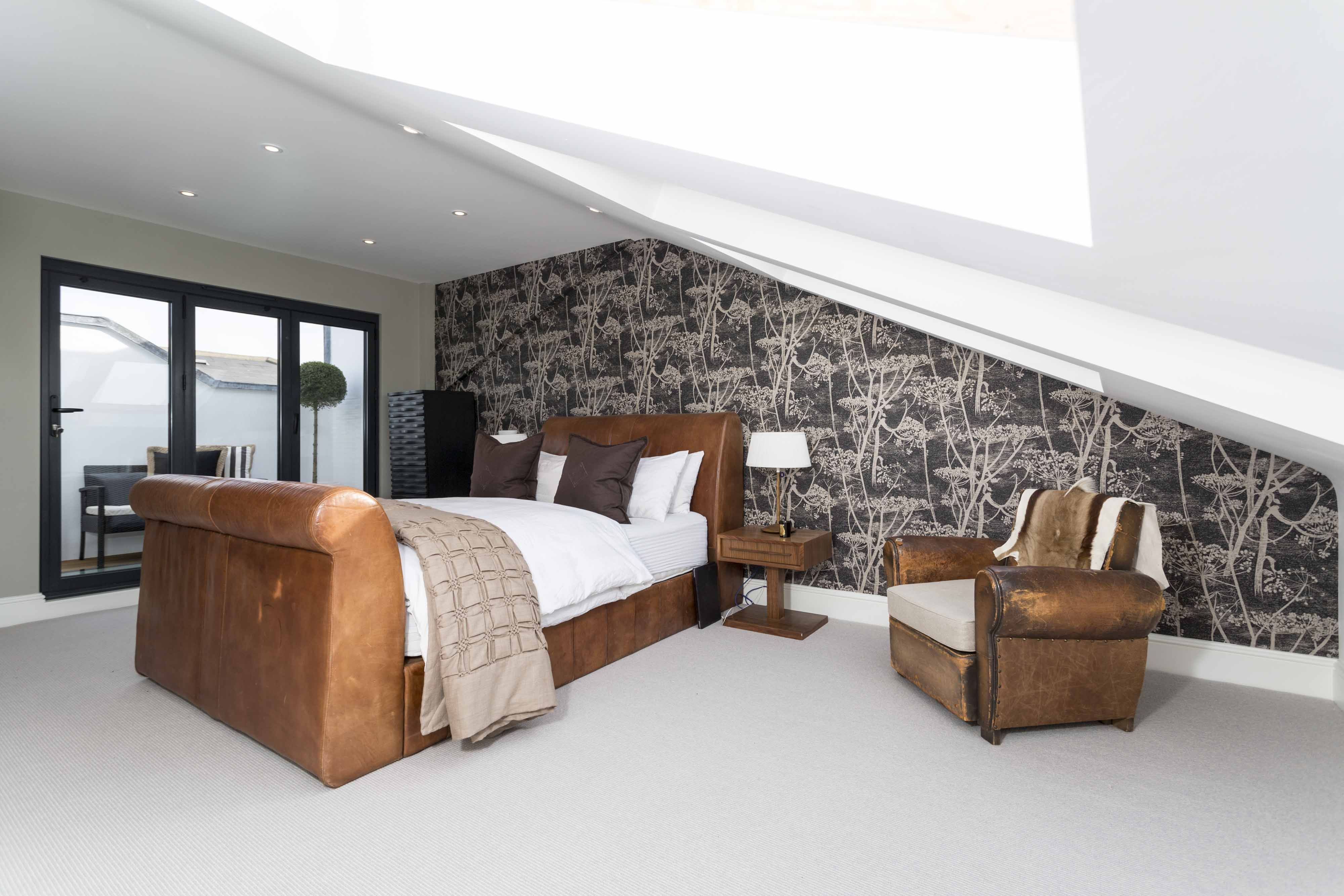Superb Stunning Loft Conversion With Integrated Roof Terrace To A Penthouse  Apartment In London. Built By