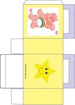Care Bear Yellow Box Favor Box