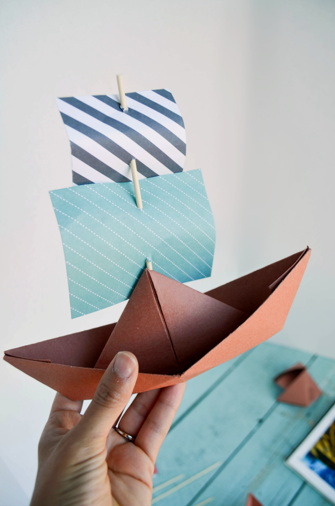 Pin By Gal On Activity Days In 2020 Kids Origami Fhe Paper Boat