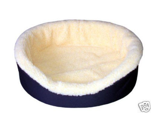 American Made Dog Bed King X Large Navyimitation Lambswool Size 40x28x7 Removable Machine Washable Cover Click A With Images Dog Bed Dog Bed Furniture Washable Dog Bed