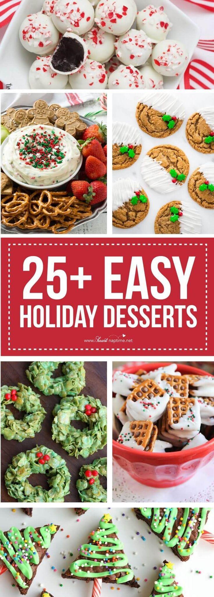25 Festive Finger Food Holiday Desserts Christmas finger