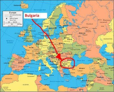 Bulgaria is situated in Southeastern Europe bordering Romania