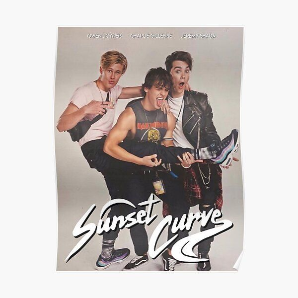 Sunset Curve album poster Poster