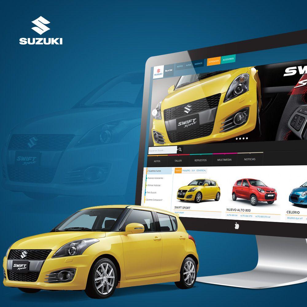 Suzuki Guatemala Creation Web Y Grafico Portafolio Web Pinterest